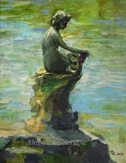 Little mermaid in Schnormeier garderns