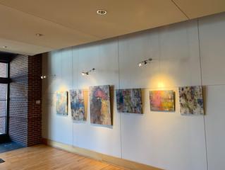 New paintings on display