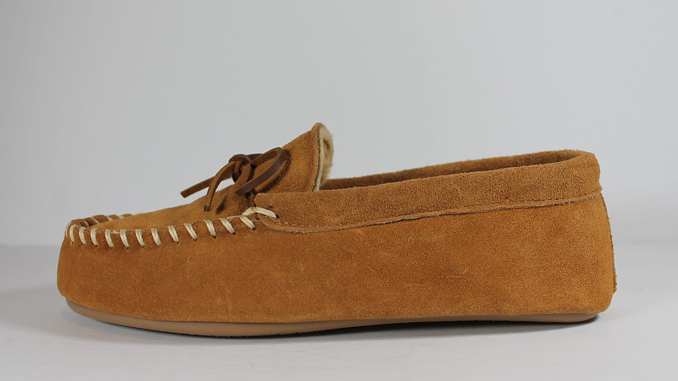 Toe Warmers Suede Moccassin