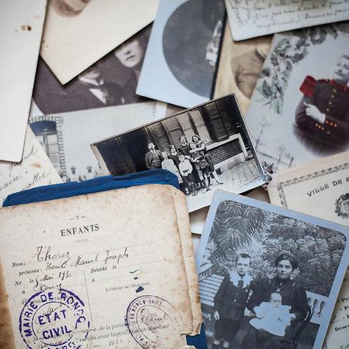 Numérisation de photos pour archivage