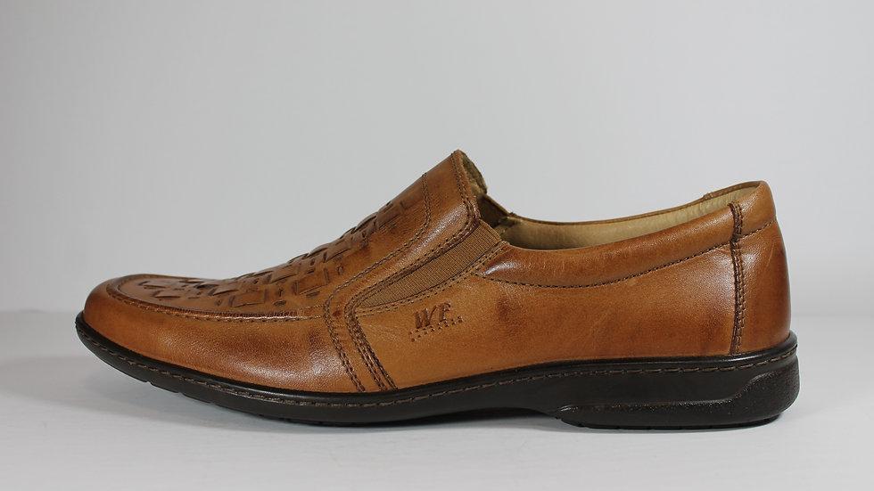 Walker Flex Leather Men's Slip-on Shoes