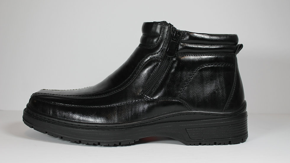 Iglu Men's Waterproof Double Zip Boot Sheen