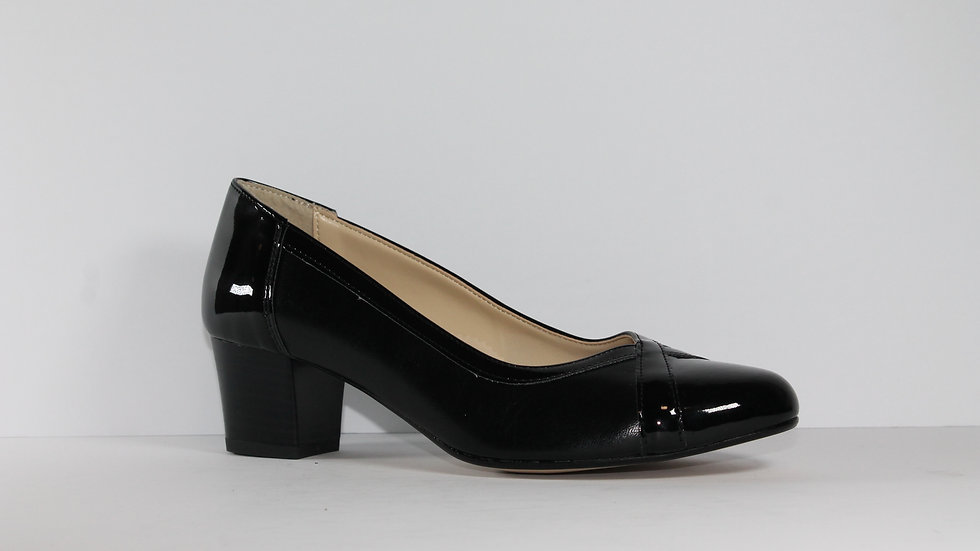 Ladies' Italian Leather M and M Pumps 419