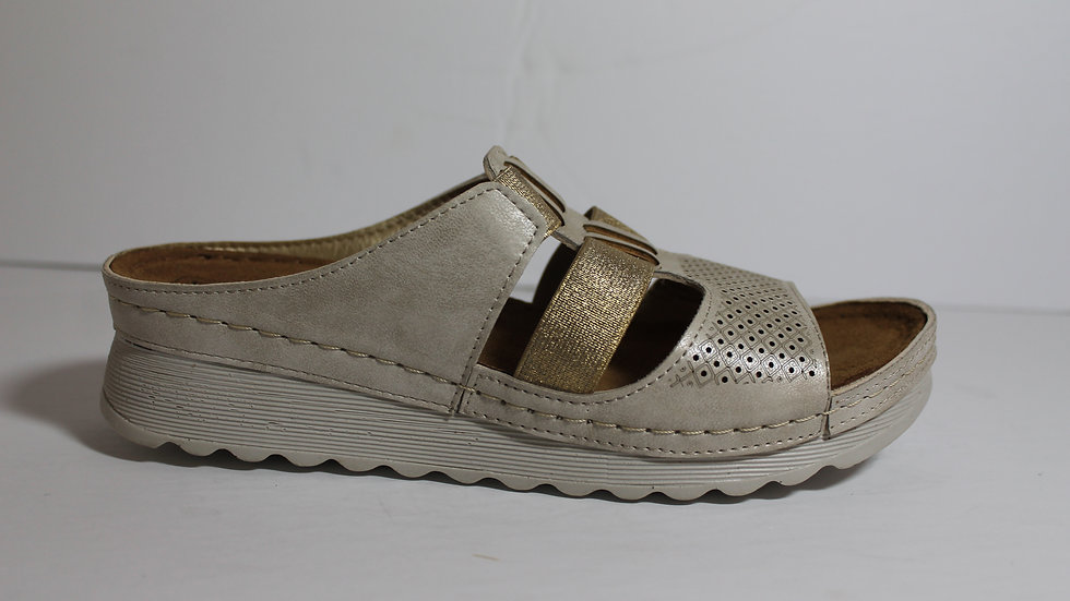 Italian Ladies' Elastic Sandal