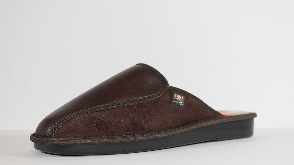 Sanycom Men's Leather Slipper