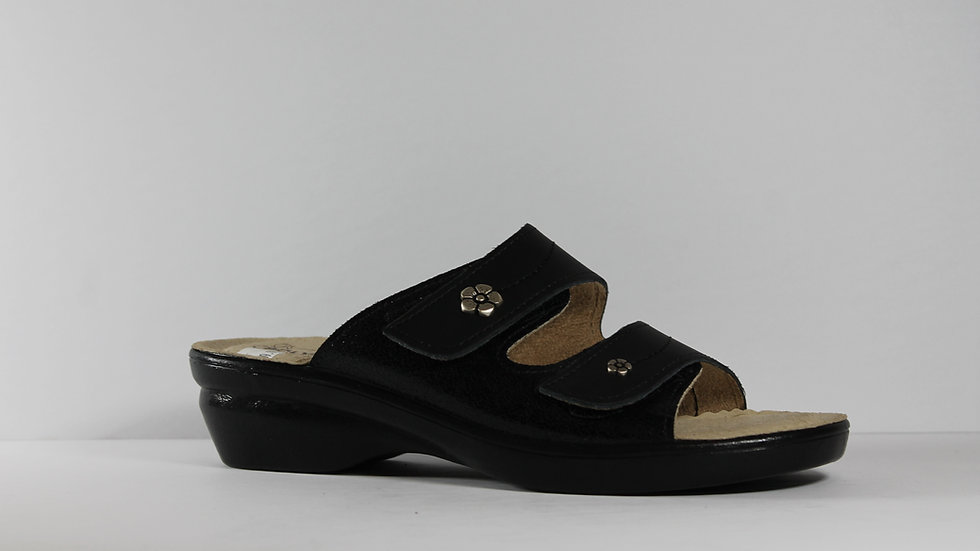 Ladies' Polyflex Italian Leather Sandals