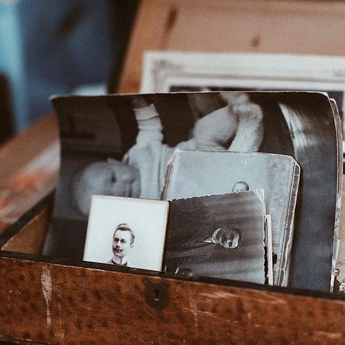 Pack prépayé de numérisation de photos pour archivage