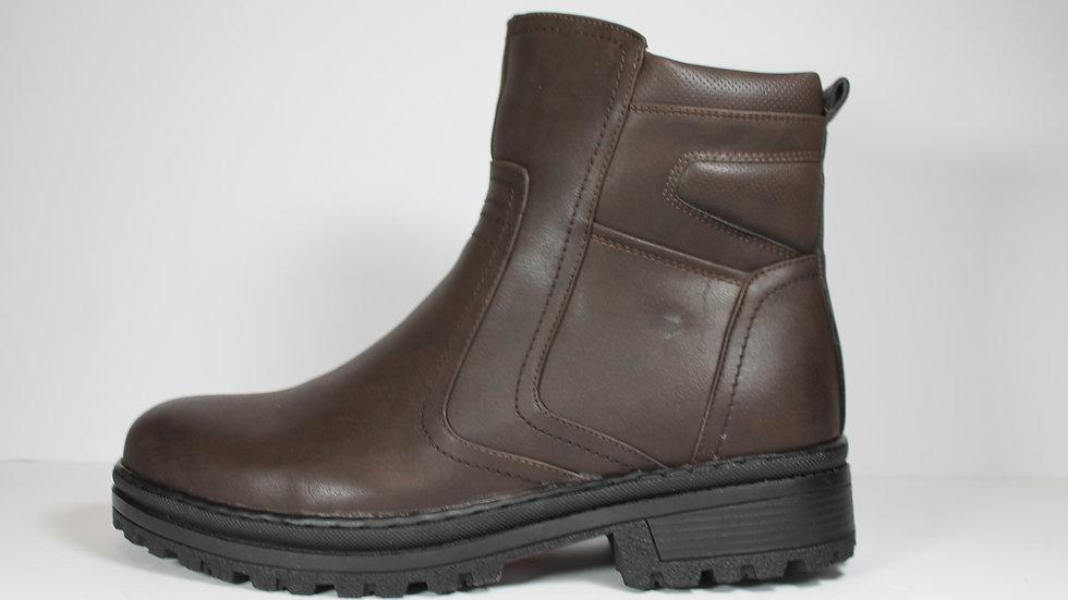 IJIJ Men's Single Zip Boot