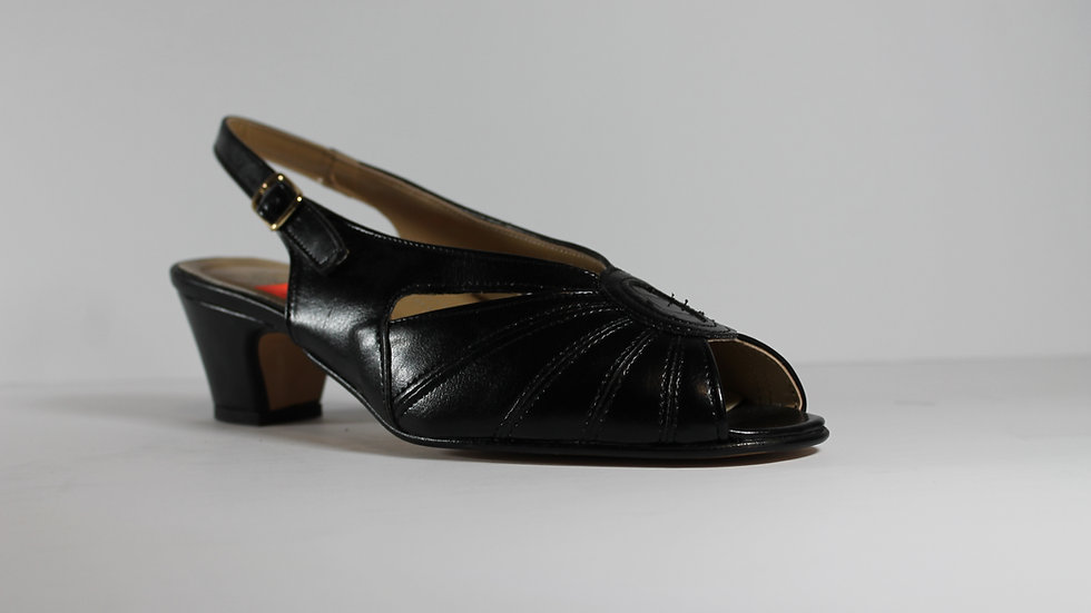 Linea Comfort Leather Dress Sandal 026