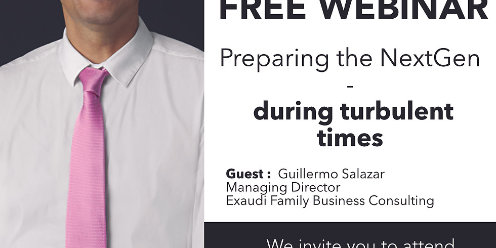 Preparing the NextGen during turbulent times with Guillermo Salazar