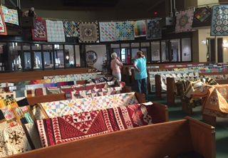 2017 Quilt Fest_Facing Back of Sanctuary