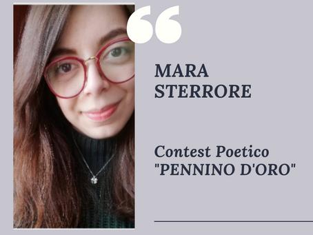 """Contest Poetico """"Pennino d'Oro 2021"""": MARA STERRORE"""