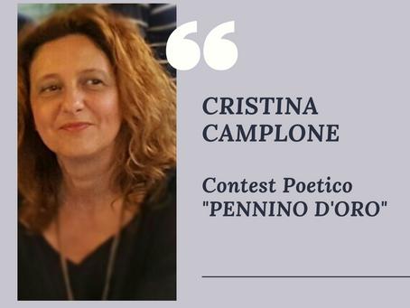 """Contest Poetico """"Pennino d'Oro 2021"""": CRISTINA CAMPLONE"""