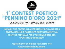 """Pennino d'Oro 2021, ecco i finalisti per la stagione """"Primavera"""""""