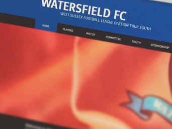 Welcome to the new Watersfield FC website!