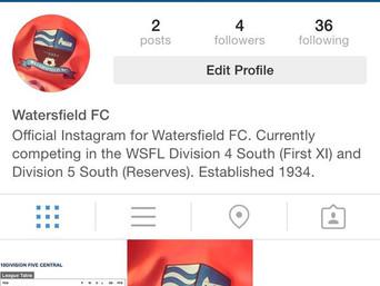 LIKE, SHARE, FOLLOW! Watersfield FC are now on Facebook, Twitter & Instagram!
