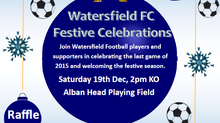 Festive football fun at the field! Saturday 19th December