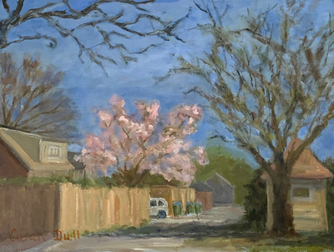 Spring Comes to the Alley