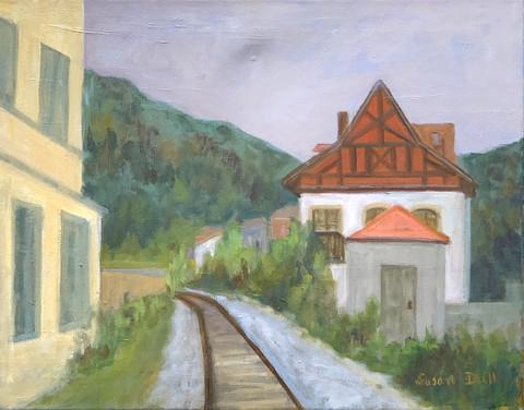 Swiss RR Station