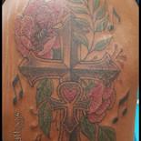Cross, Ankh, Flowers & Music