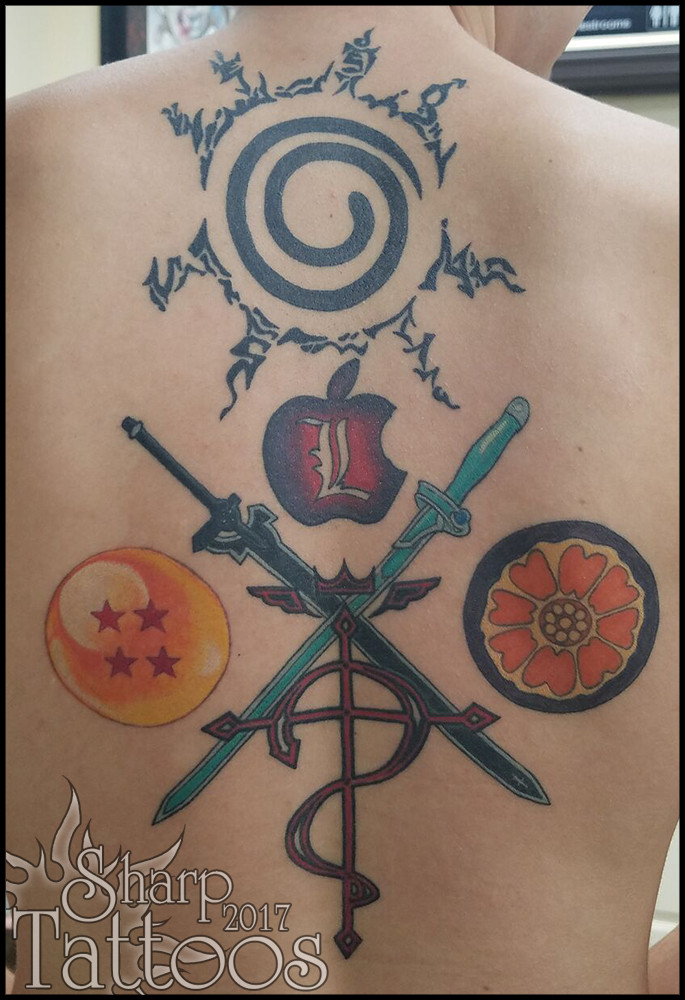 Sharptattoos Color Tattoos
