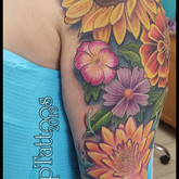 Front of arm