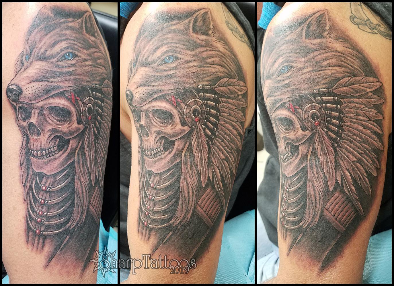Sharptattoos Black Grey Tattoos