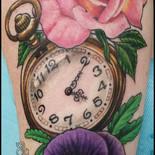 Viola, Rose & Timepiece