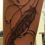 Feather and Rose