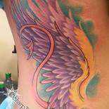 Angel wings, devil tail