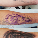 Eye cover-up
