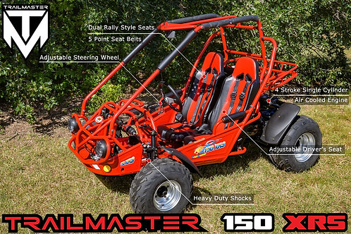 TRAIL MASTER BUGGY 150 TWISTER XRX