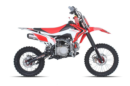 "2019 DHZ OUTLAW140EL Electric Start, 140cc Engine, 17"" Front / 14"" Rear Wheel"