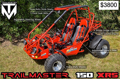 150cc dune buggy trailmaster