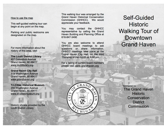 Self-Guided Historic Walking Tour - Downtown Grand Haven, MI