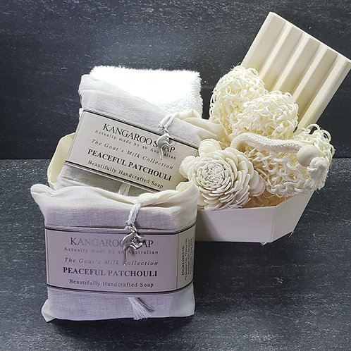 Goat Milk Gift Pack - Peaceful Patchouli