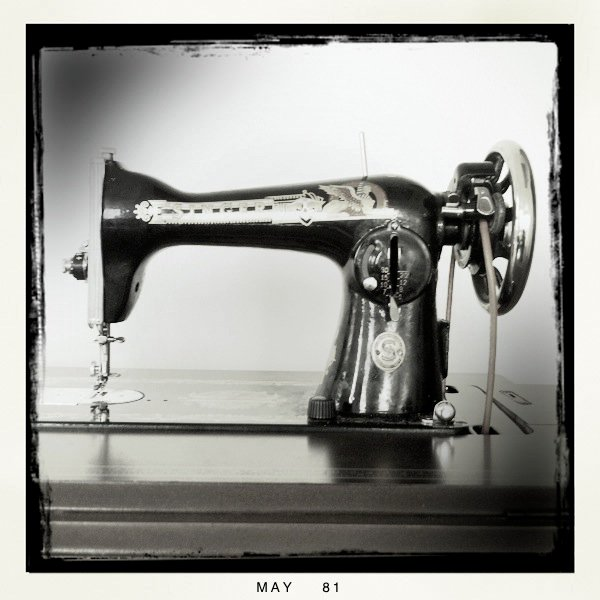 My Treadle Singer Sewing Machine