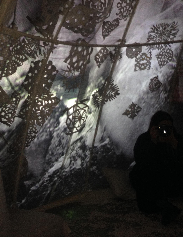 Snow Globe inside