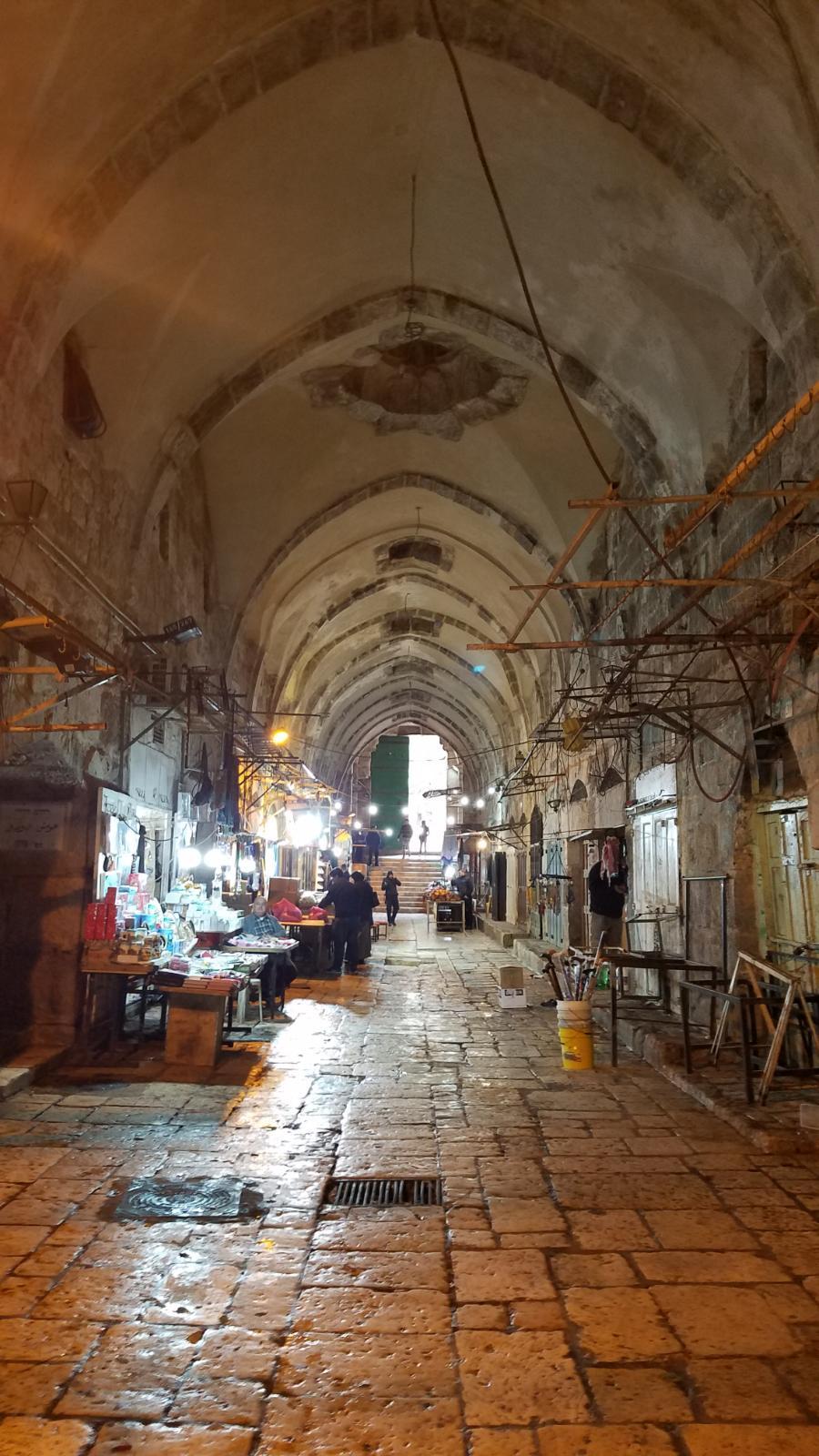 Alley in old Jerusalem-20190128