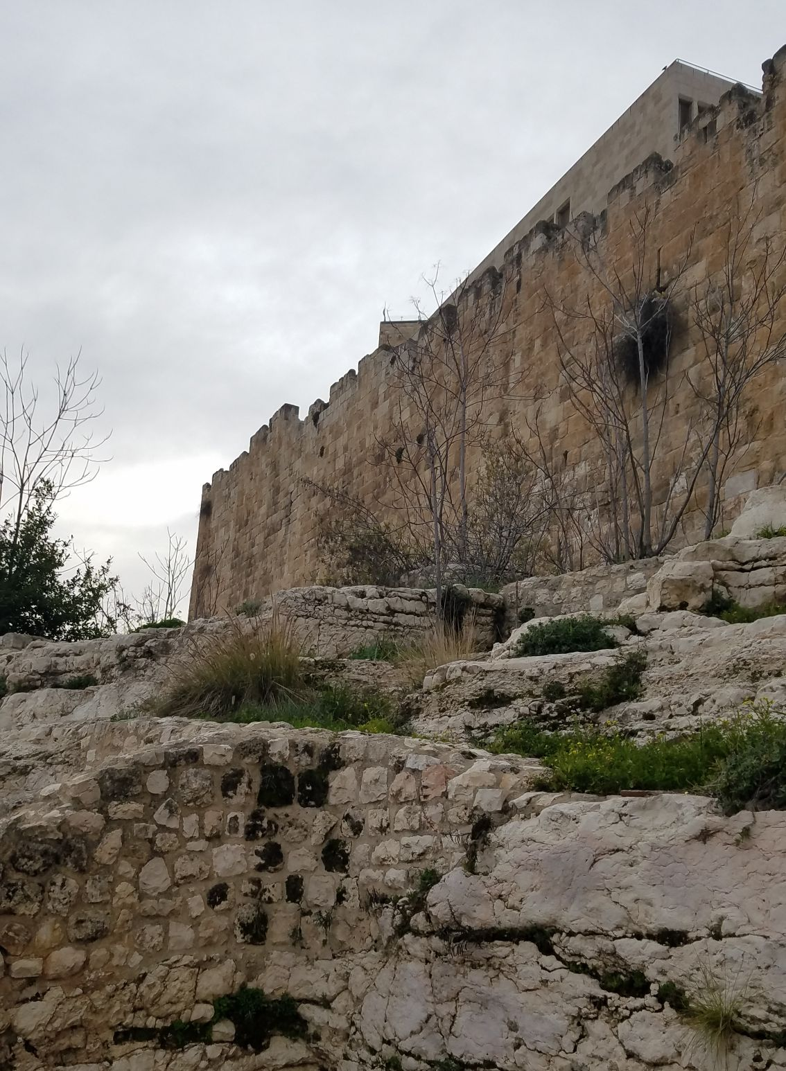 Outside of the Eastern Wall of the City2