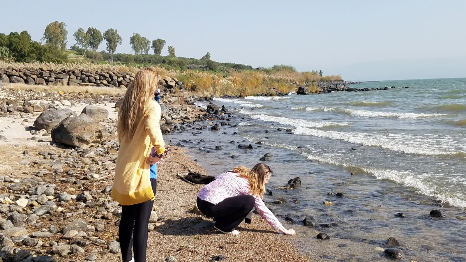 Tamara and Julia Haynes at the Sea of Ga