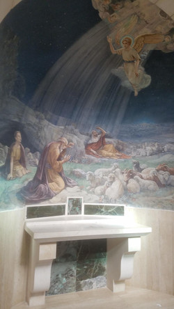 Franciscan Church painting of the shephe