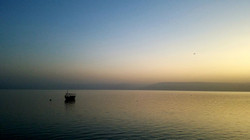 Sunrise the last day on the Galilee-2019