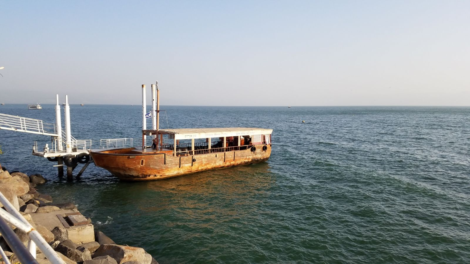Boat ride on the Sea of Galilee2-2019012