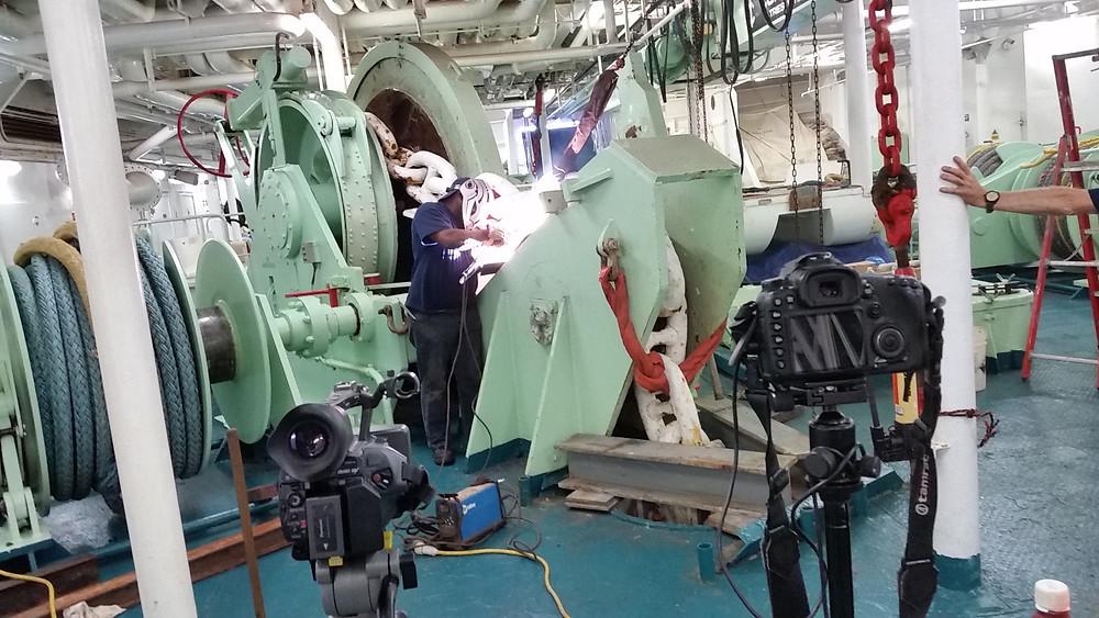 Anchor mooring repair