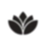 Black Flower Logo White Background.png
