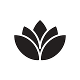 Black Flower Logo White Background.png