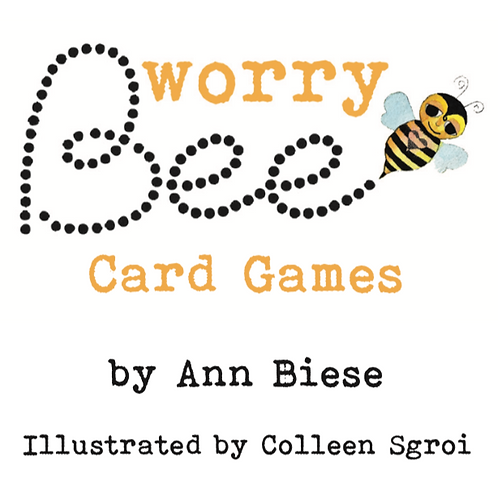 Worry Bee Card Game $9.99