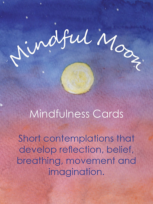 Mindful Moon Deck Card