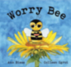 Worry Bee Children's Book